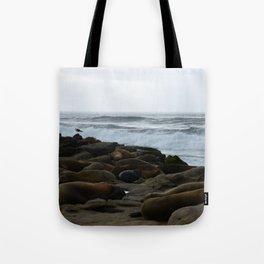 San Diego Sea Lions.....Sunbathing Tote Bag
