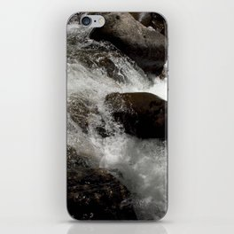 A Place to Contemplate, on Fall Creek iPhone Skin