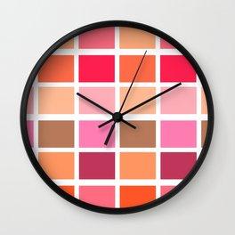 Fall Pallet Wall Clock