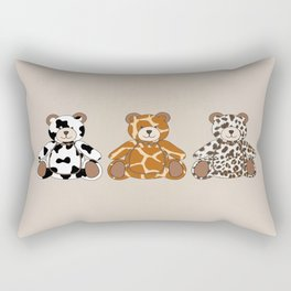 Ani-printed bears Rectangular Pillow