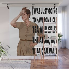I was going to have some tea Wall Mural