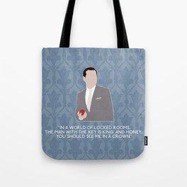 The Reichenbach Fall - Jim Moriarty Tote Bag