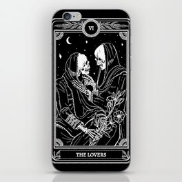 The Lovers Skeleton iPhone Skin