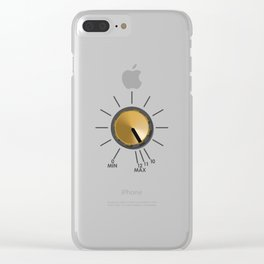 Turn It Up! Clear iPhone Case