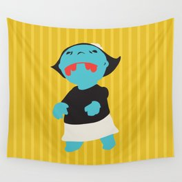 Zombie Betty Wall Tapestry
