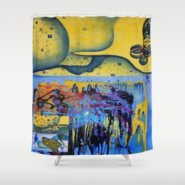 soul mirrors  Shower Curtain