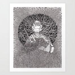 Ninja Turtle Art Print