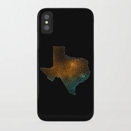 Texas StarStuff iPhone Case