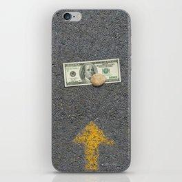 Up Road - Sideline money iPhone Skin