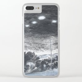 Personal Disclosure No 2 Mass Sighting Clear iPhone Case