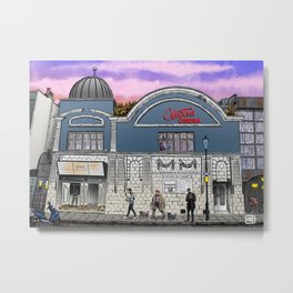 London Cinema Metal Print