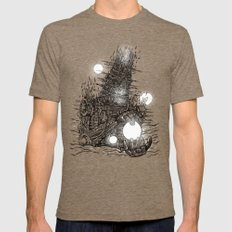 The Star Builder 2X-LARGE Tri-Coffee Mens Fitted Tee