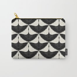 CRANE DESIGN - pattern - Black and White Tasche