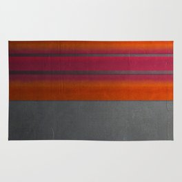 """Architecture, cement texture & colorful"" Rug"