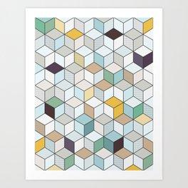 Cubed II Art Print
