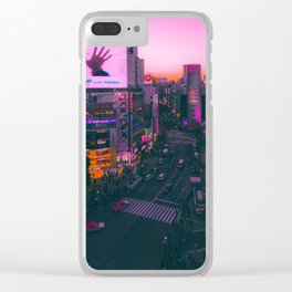 Golden Hour on Shibuya Clear iPhone Case