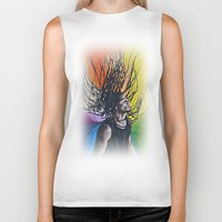 reggae Biker Tanks featuring Reggae by Halinka H