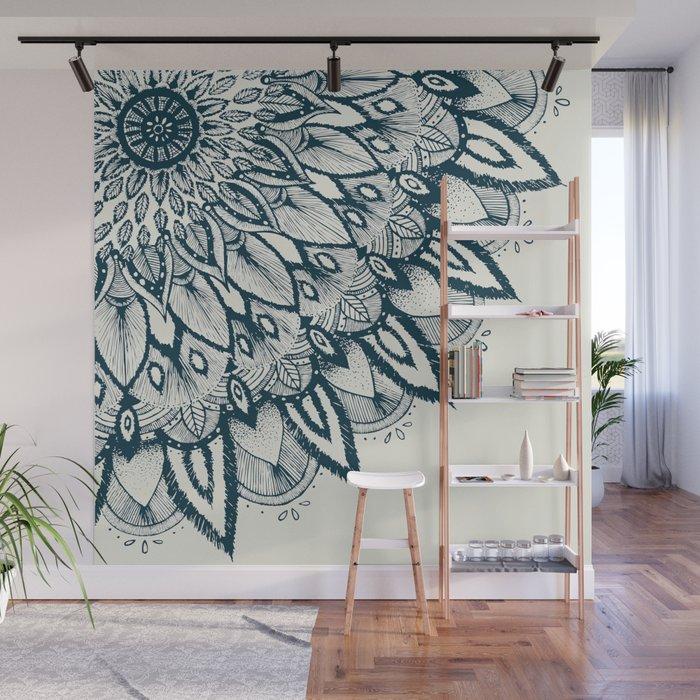 Mandala Wall Mural By Rskinner1122