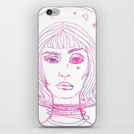 Barbarella Space Princess iPhone Skin
