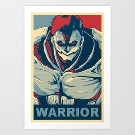 Armored Titan - Warrior Art Print