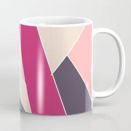 Pink with black Coffee Mug