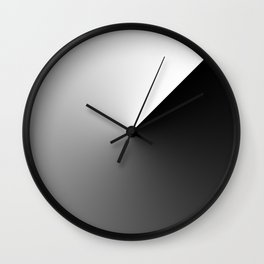 25 black and white abstract Wall Clock