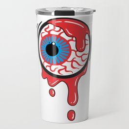 Bloody Eyeball Travel Mug