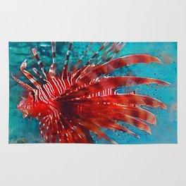 Lion Fish Rug