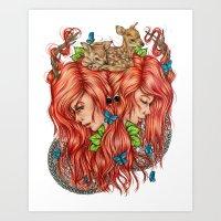 Jessa Art Print