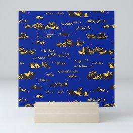 Deep blue sea Mini Art Print