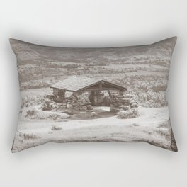 Badlands Overlook, Theodore Roosevelt NP, ND 34 Rectangular Pillow