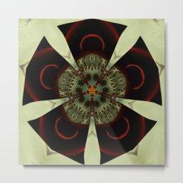 Fractal Scorpion Flower Mandala 13 Metal Print