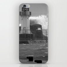 Ardrossan Lighthouse Versus the Sea iPhone & iPod Skin