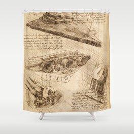 Codex: Star Destroyer Shower Curtain