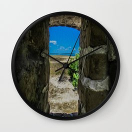 Break Free of Your Walls Wall Clock