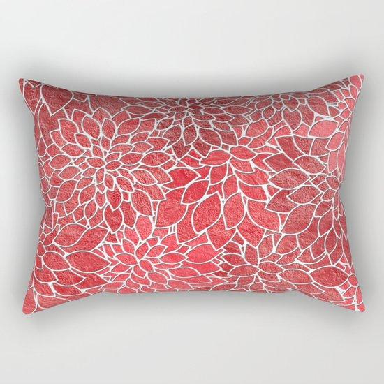 Floral Abstract 20 Rectangular Pillow