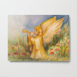 Angelic Sound Metal Print