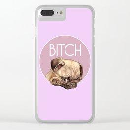 Bitch Clear iPhone Case
