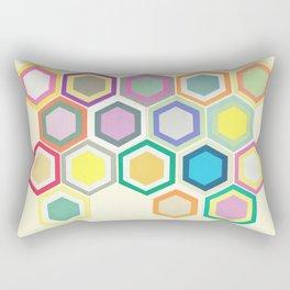 Honeycomb Layers II Rectangular Pillow