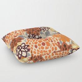 Spiced Floral Floor Pillow
