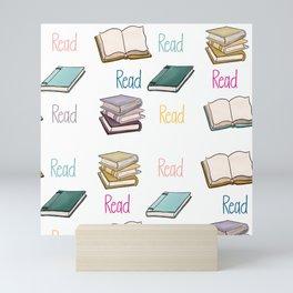 Read Books Back To School Art Mini Art Print