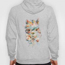 + Watercolor Alpaca + Hoody