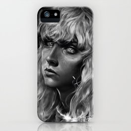 The White Hawk iPhone Case