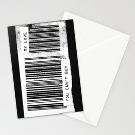 You Can't Buy My Love Stationery Cards