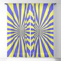 Starburst (Blue & Yellow Pattern) by luxelab