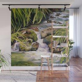 Water Oasis Wall Mural