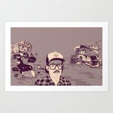 Vish Art Print