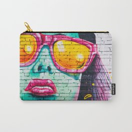 Graffiti Of Women On Wall Carry-All Pouch