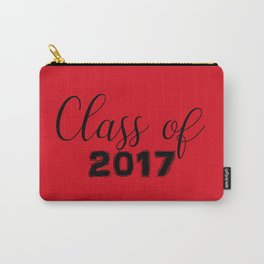 Class of 2017 - Red Black Carry-All Pouch
