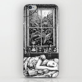 Nocturnal Creatures iPhone Skin